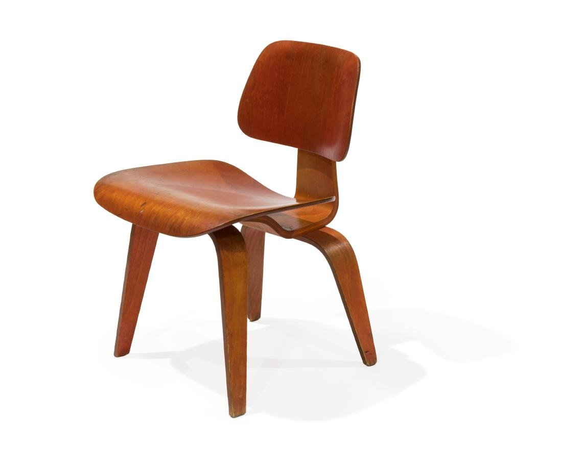 Charles and Ray Eames Early DCW Chair
