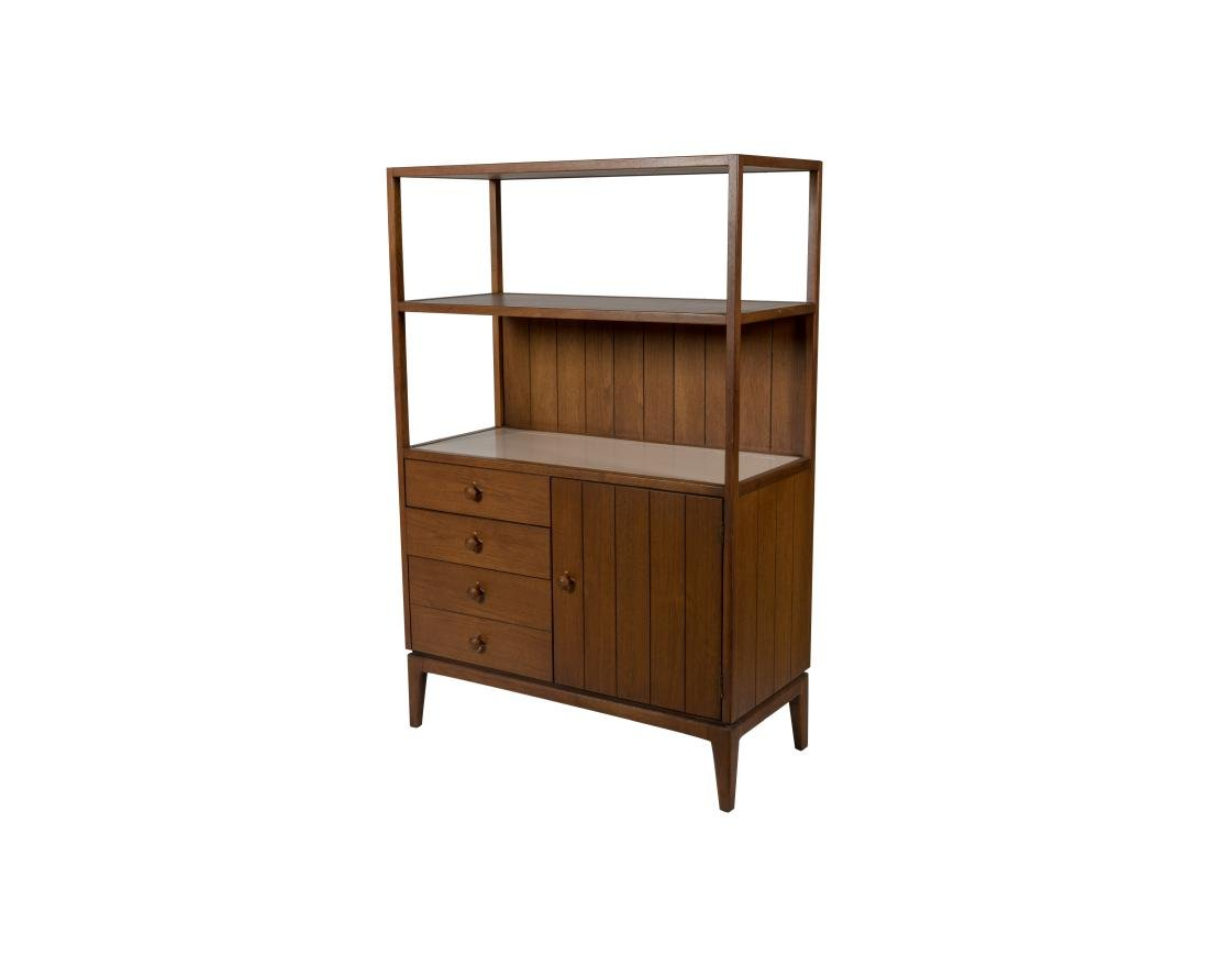 Henredon Cabinet with Etagere Top
