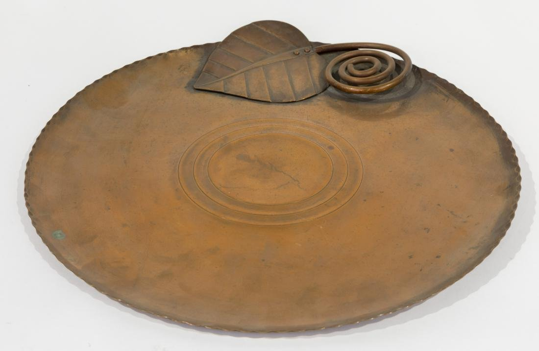 Copper Embossed Tray