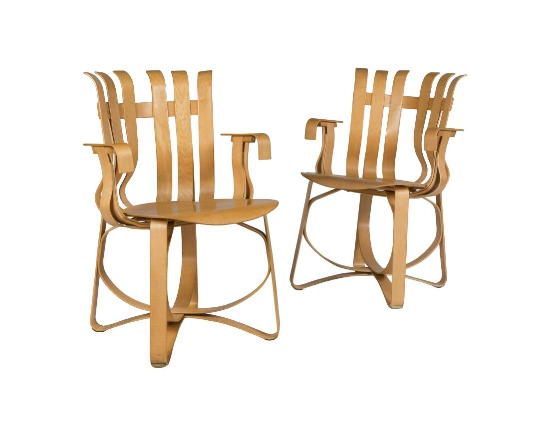 Frank Gehry for Knoll Hat Trick Chairs - Two