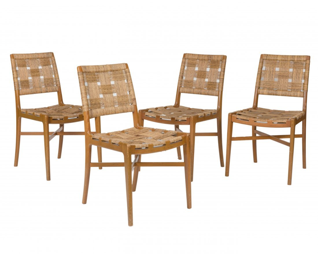 Edmond Spence for Industria Mueblera Chairs - Four