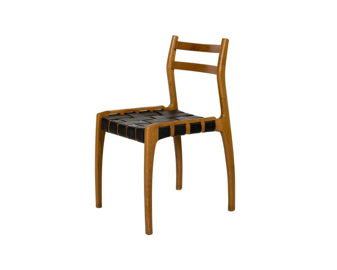 Italian Walnut Side Chair