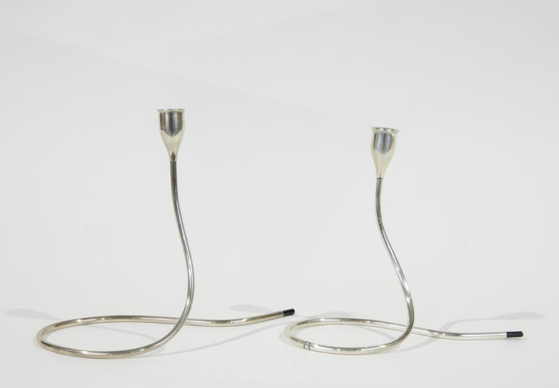 Marion Anderson Noyes Towle Sterling Candlesticks
