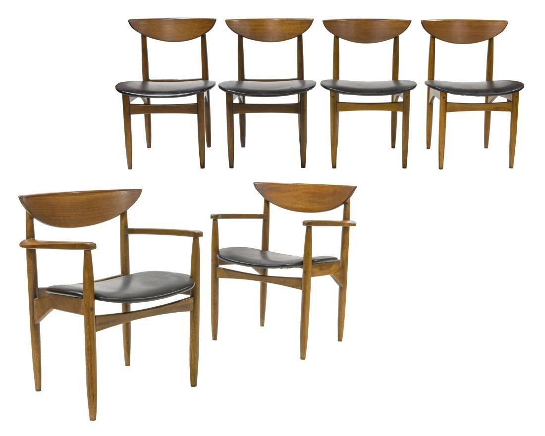 Warren Church for Lane Dining Chairs - Six