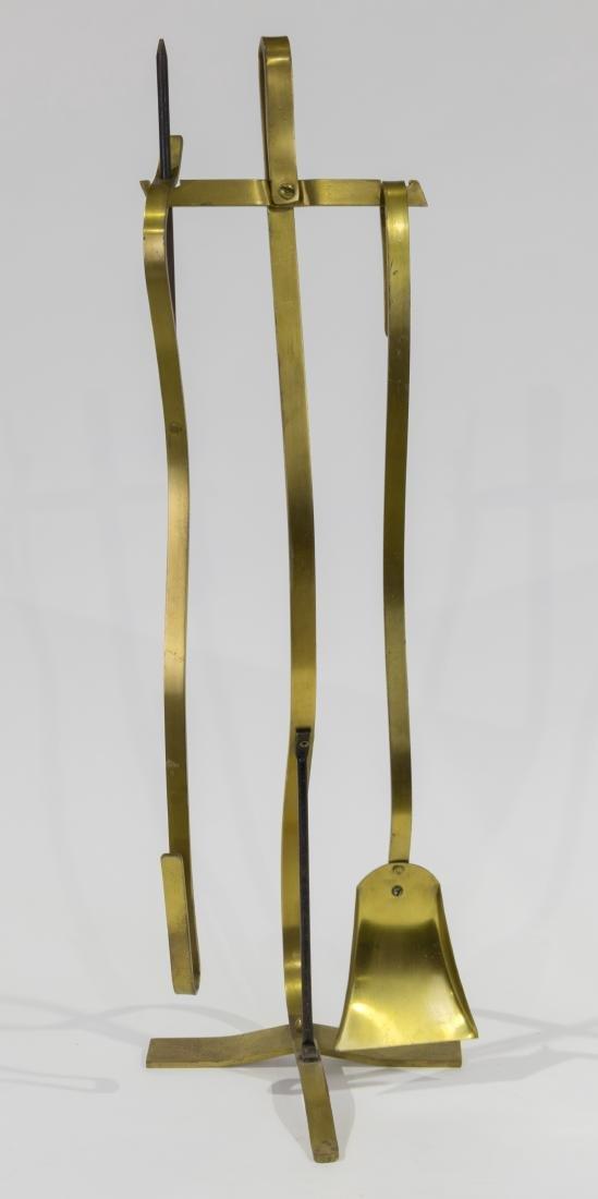 Brass Fireplace Tools - 3 Piece