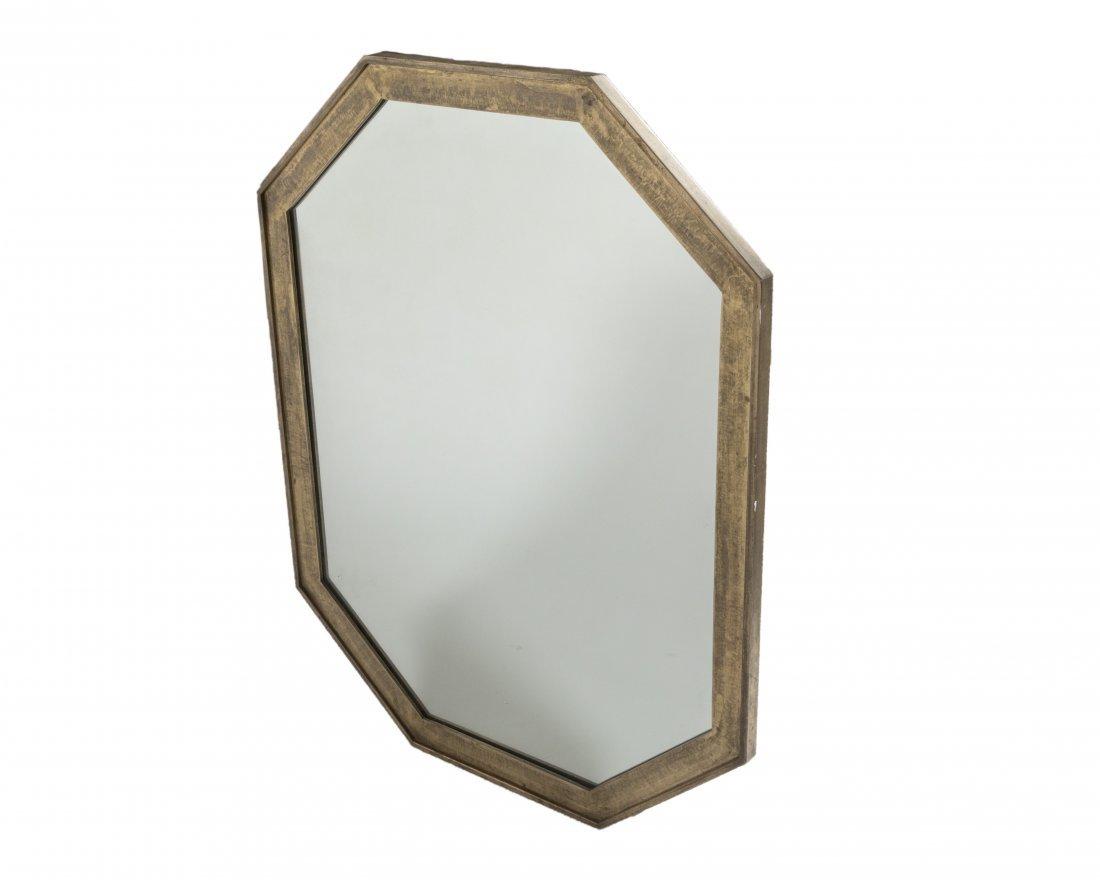 John Stuart for Widdicomb Bronzed Mirror - Signed