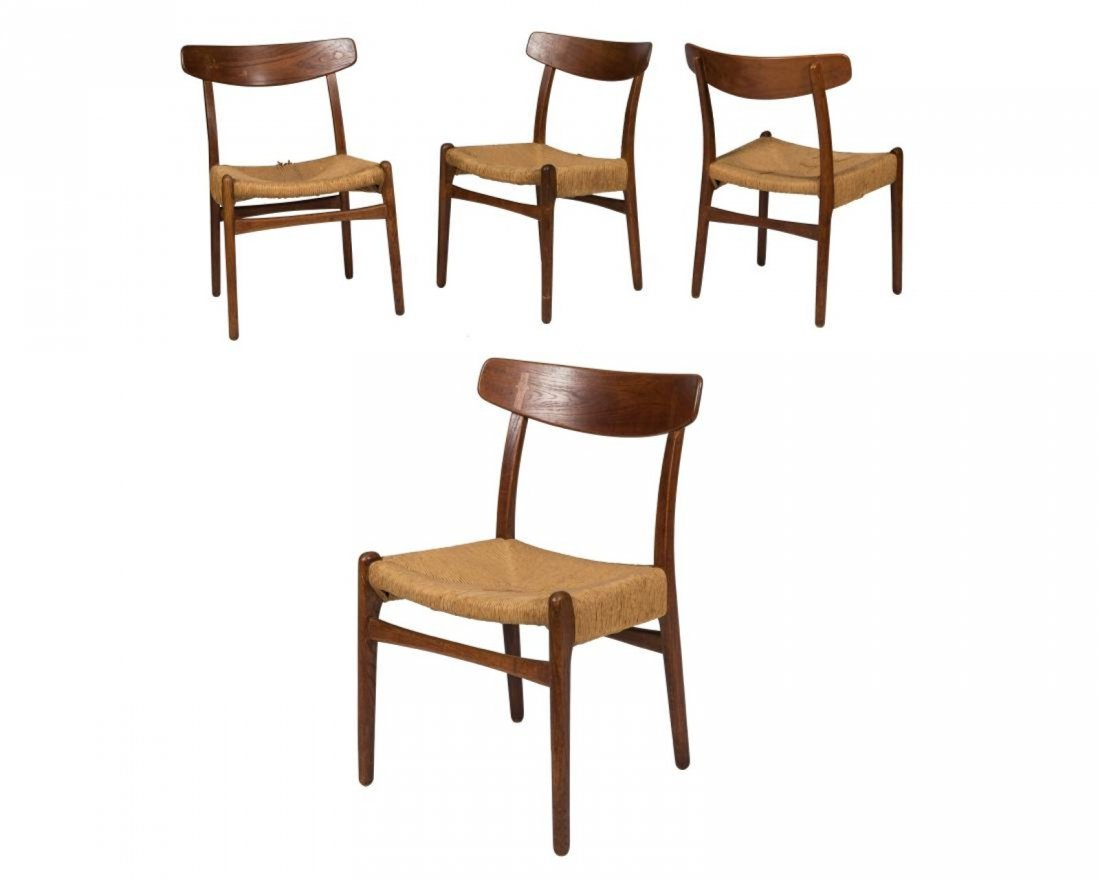 Hans Wegner Style CH 23 Side Chairs