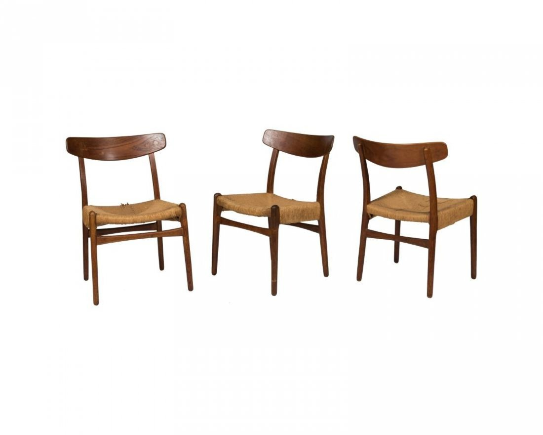 Hans Wegner Style CH 23 Side Chairs - 2