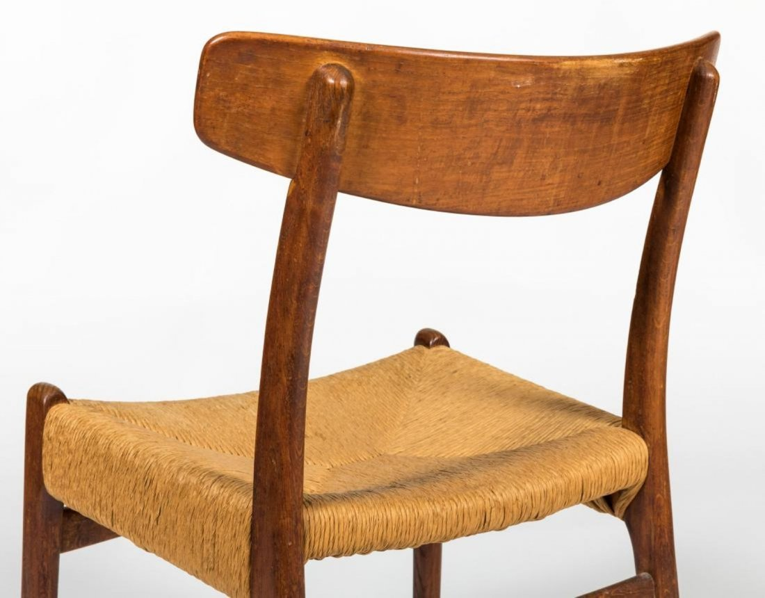 Hans Wegner Style CH 23 Side Chairs - 7