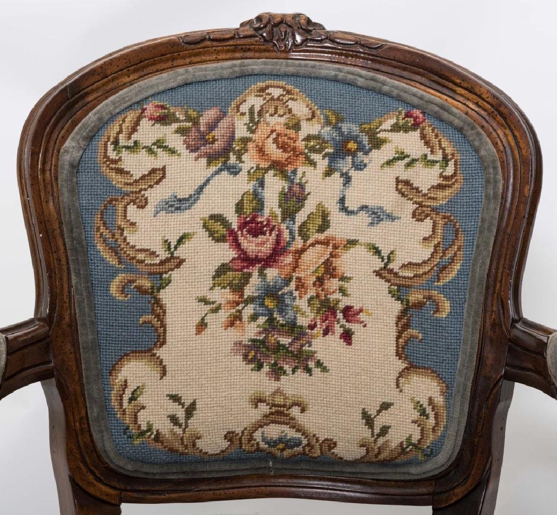 French Needlepoint Arm Chair - 2