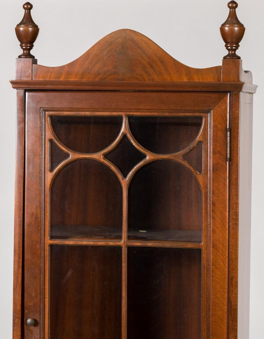 Chippendale Style Mahogany Bookcase - 2