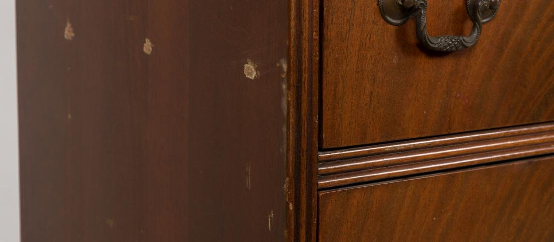 Chippendale Style Mahogany Bookcase - 4