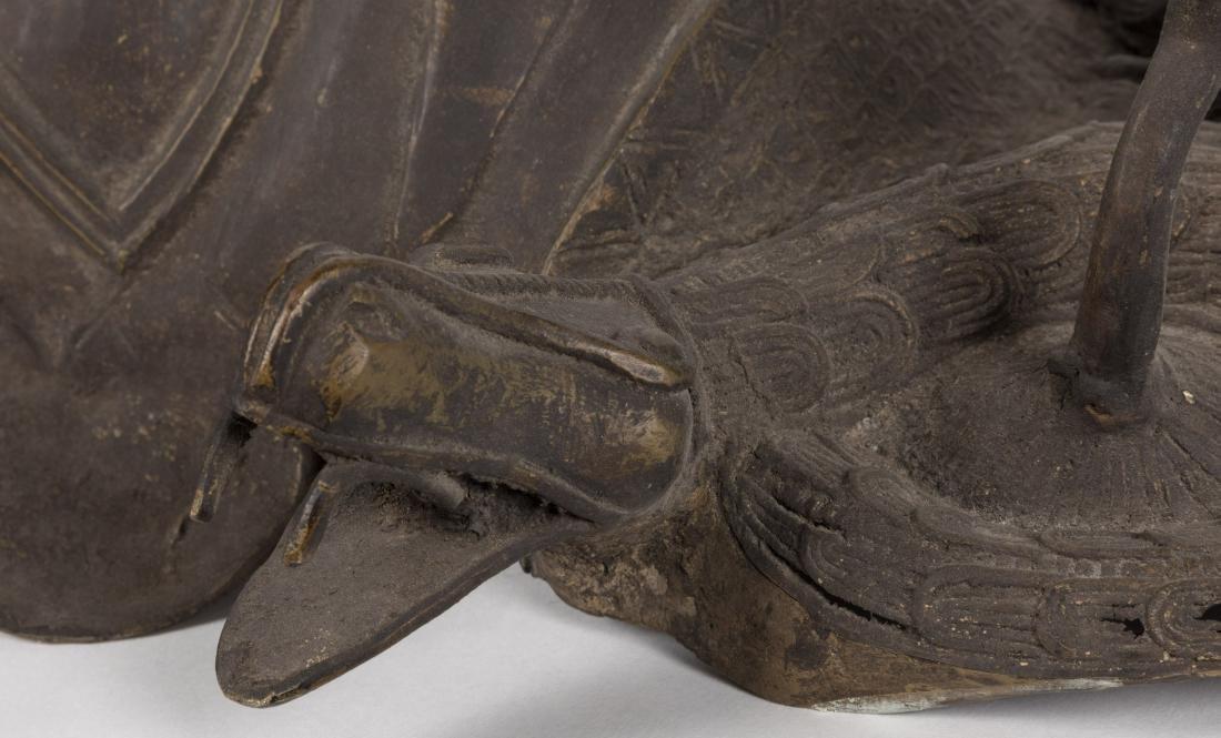 Bronze Tribal Mask - 3