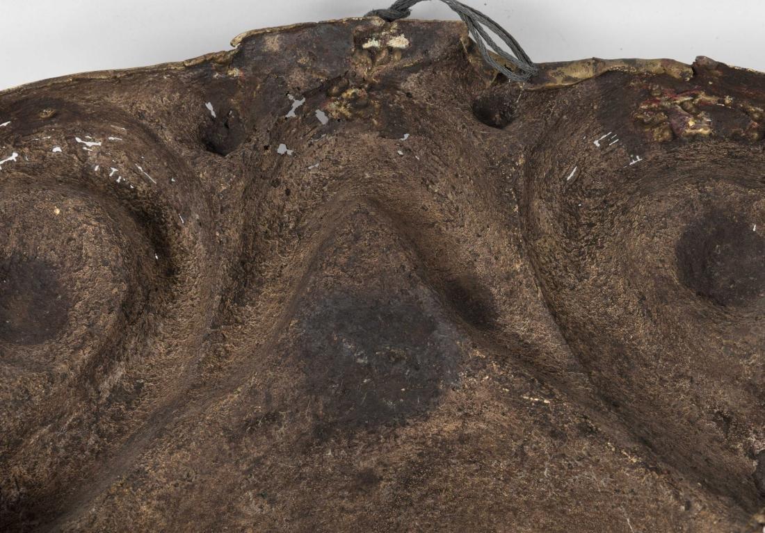 Bronze Tribal Mask - 4