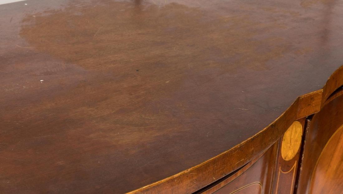Inlaid Mahogany Sideboard on Legs - 2