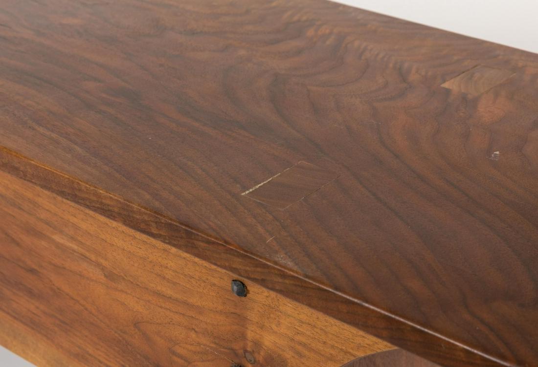 Handmade Walnut Bench - 2