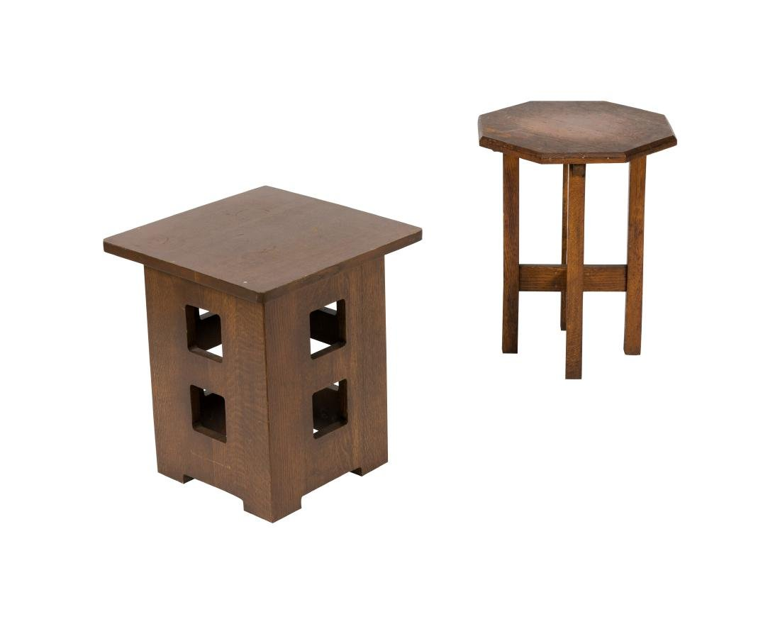 Two Mission Side Tables