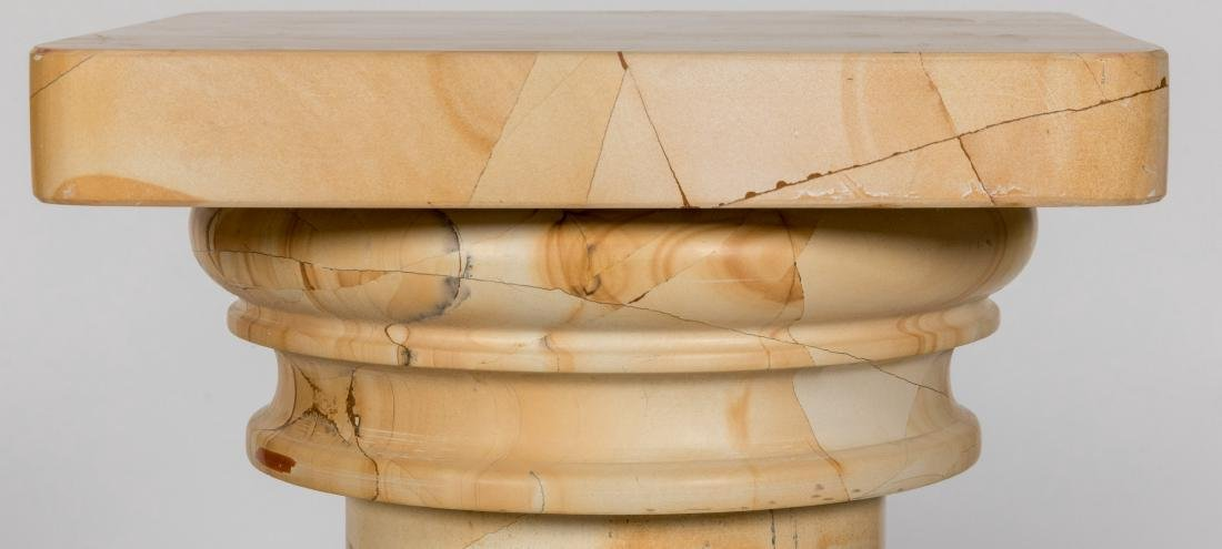 Pair Marble Pedestals - 2