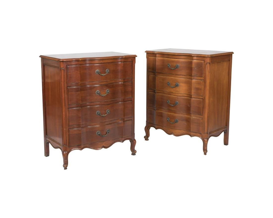 John Widdicomb French Provincial Chests - Pair