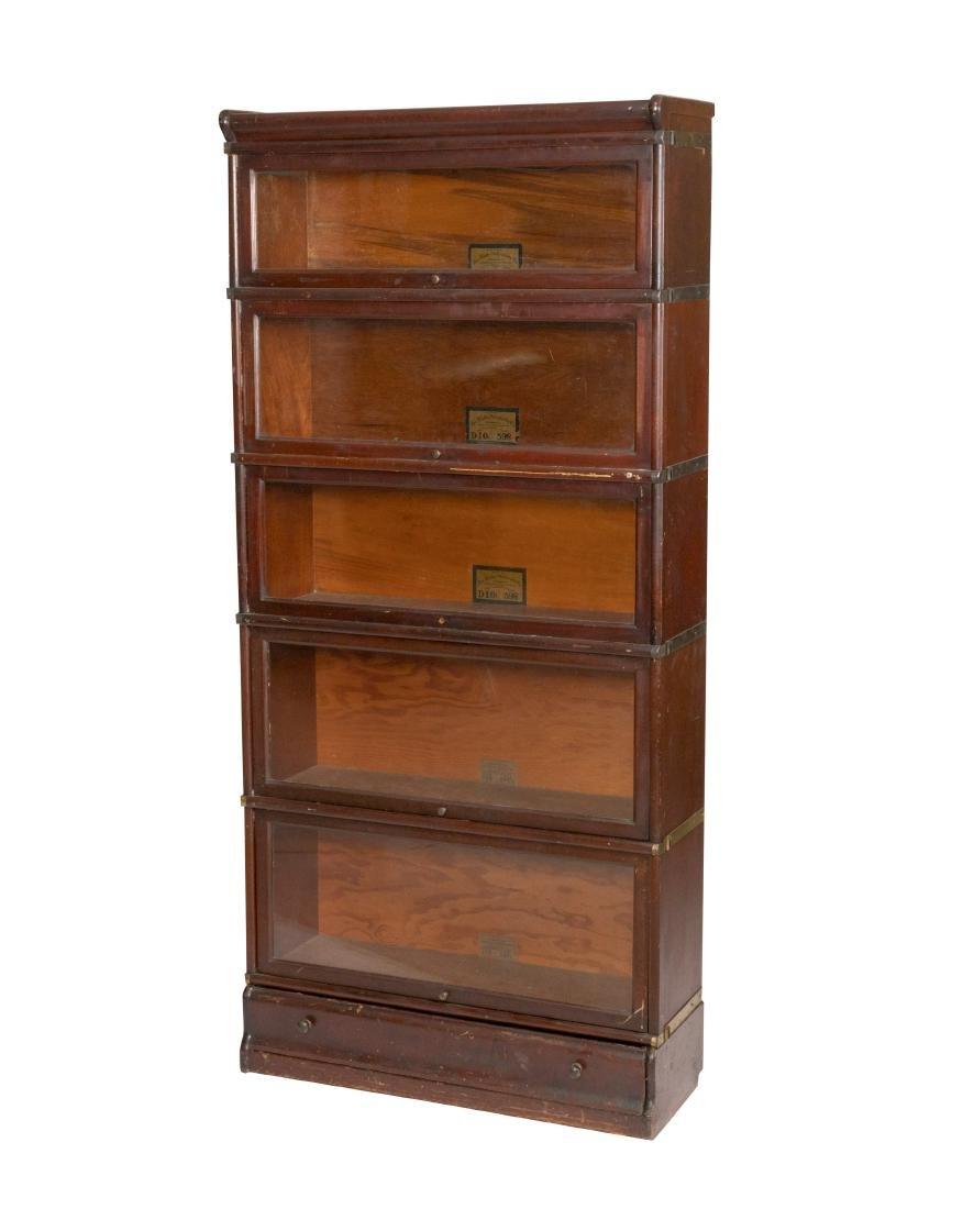 Globe Wenicke Mahogany Barrister Bookcase