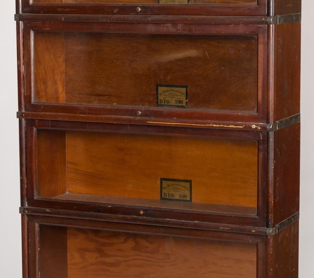 Globe Wenicke Mahogany Barrister Bookcase - 2