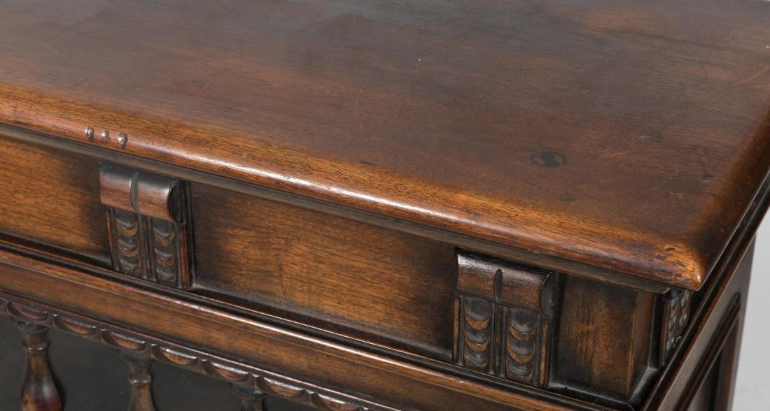 Kittinger Jacobean Style Oak Bookcase - 2