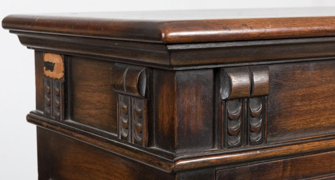 Kittinger Jacobean Style Oak Bookcase - 3