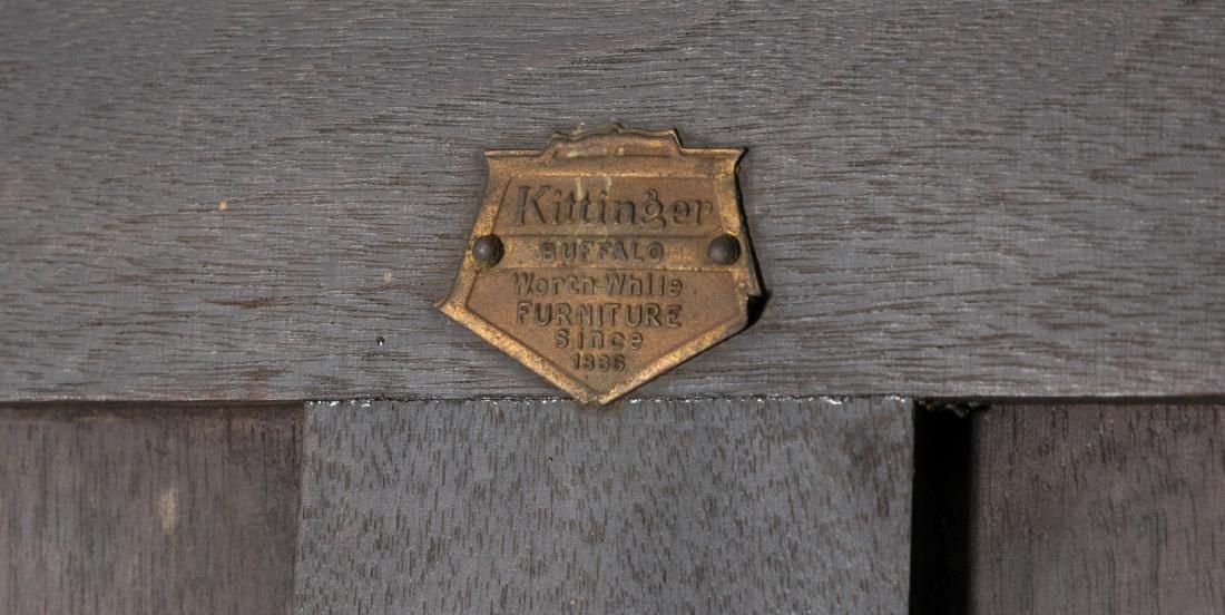Kittinger Jacobean Style Oak Bookcase - 4