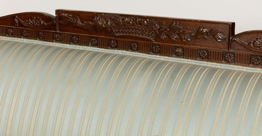 Sheraton Style Mahogany Sofa - 3