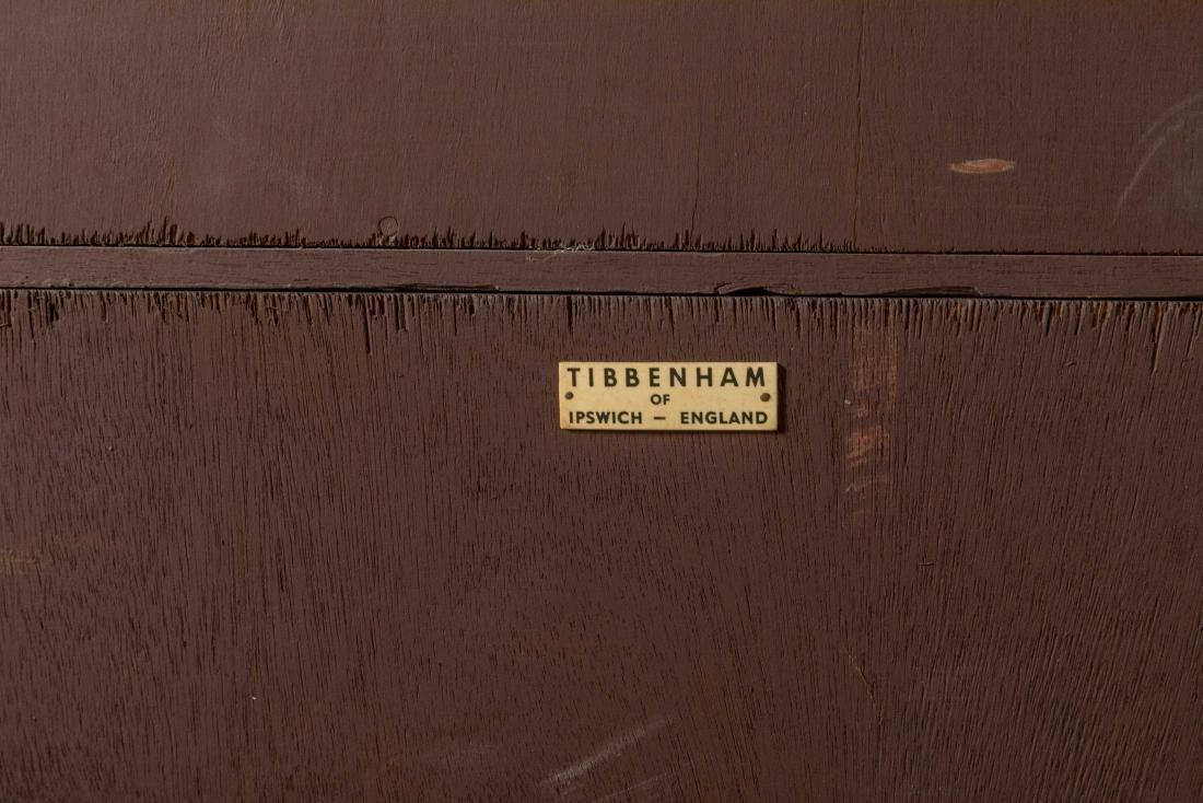 Tibbenham England Two Part Breakfront Secretary - 5