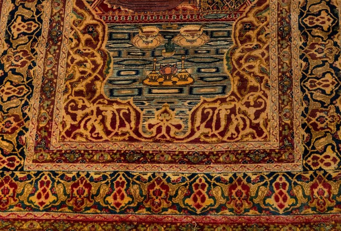 Persian Scenic Wall Hanging Rugs - Pair - 4