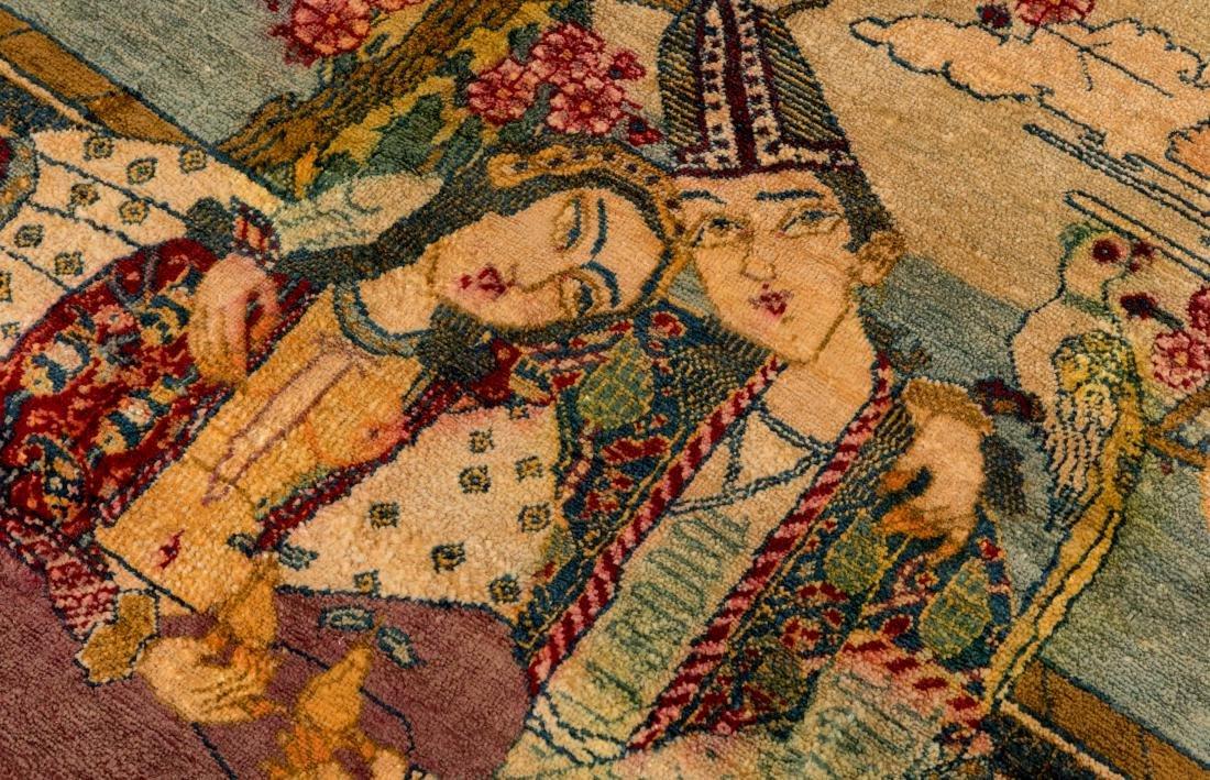 Persian Scenic Wall Hanging Rugs - Pair - 5