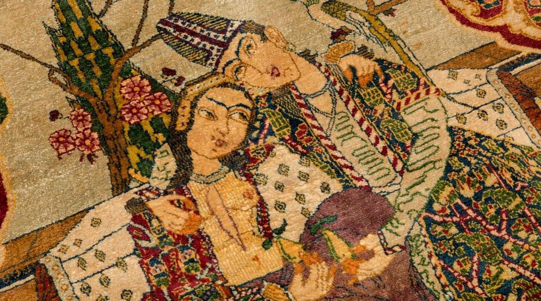 Persian Scenic Wall Hanging Rugs - Pair - 6