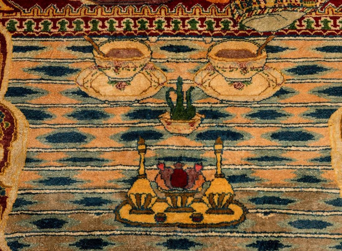 Persian Scenic Wall Hanging Rugs - Pair - 7