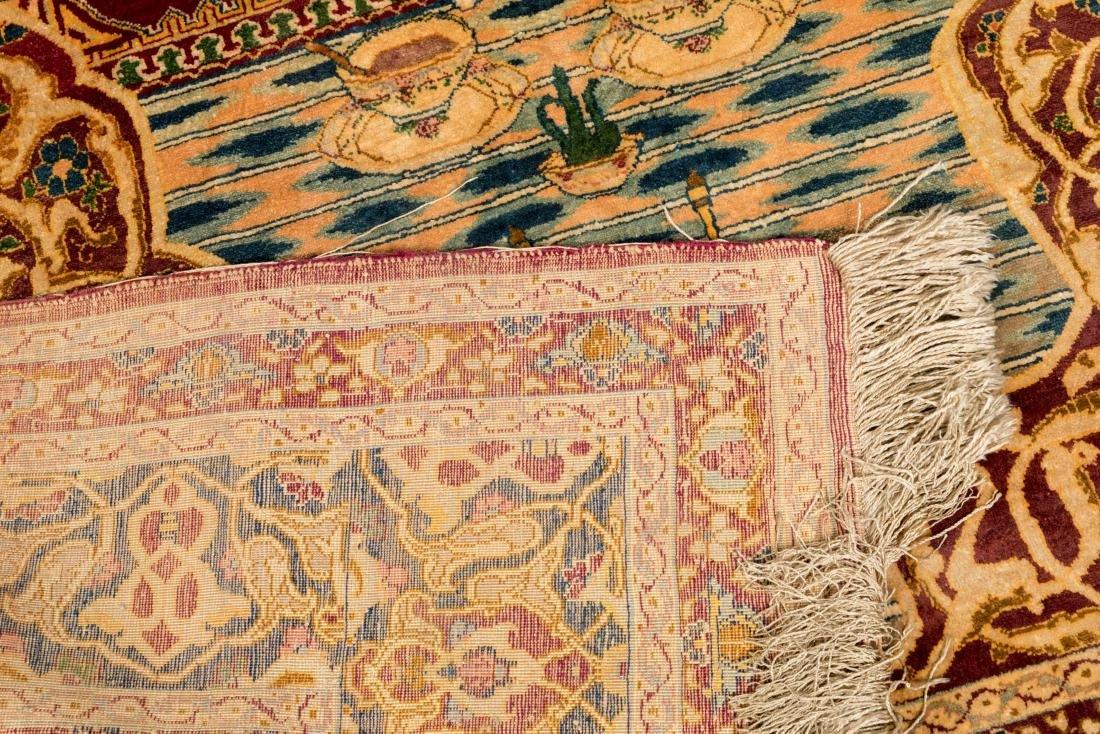 Persian Scenic Wall Hanging Rugs - Pair - 8