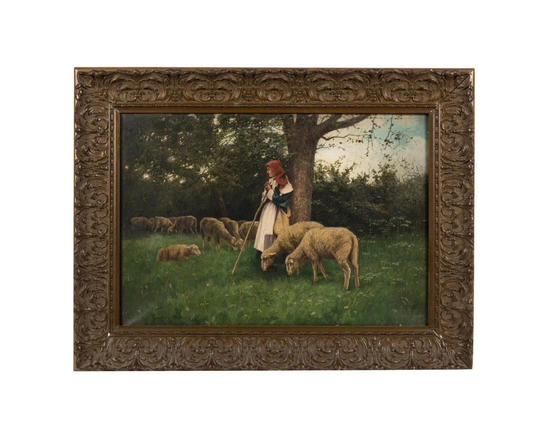 Karl Dietze-Munchen - Oil on Canvas