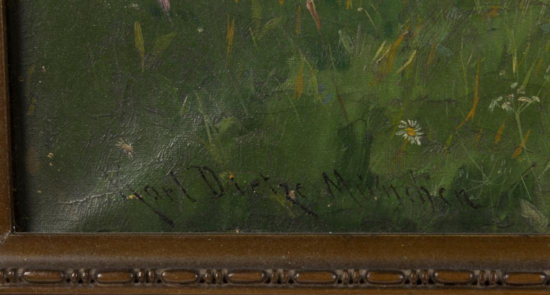 Karl Dietze-Munchen - Oil on Canvas - 3