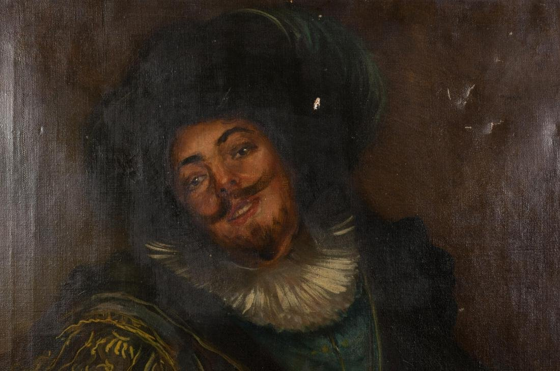Oil on Canvas of Musketeer - 2