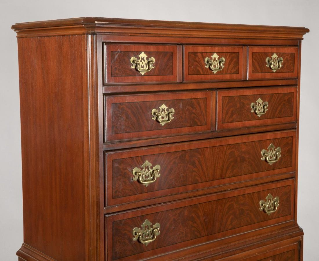 "Drexel Heritage ""Chippendale"" Highboy - 4"