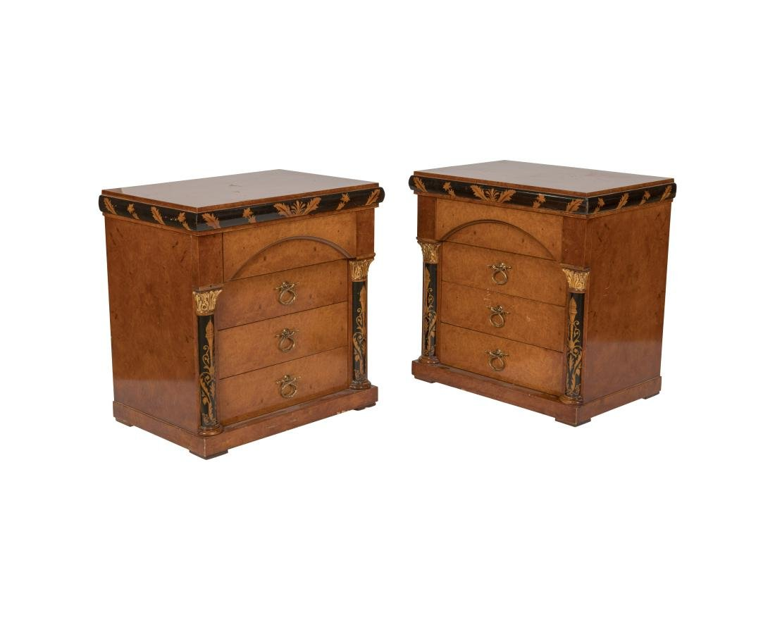 Maggiolini Collection Italy Nightstands - Pair