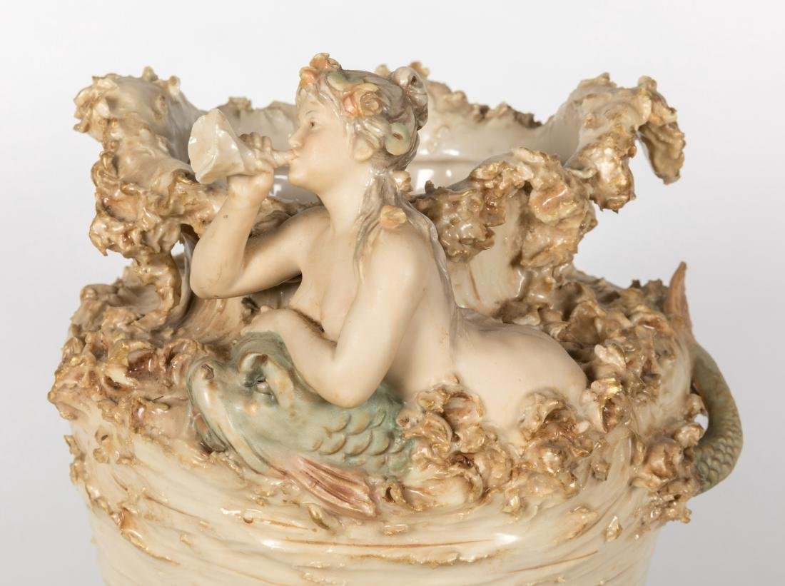 Royal Dux Figural Vase - 2