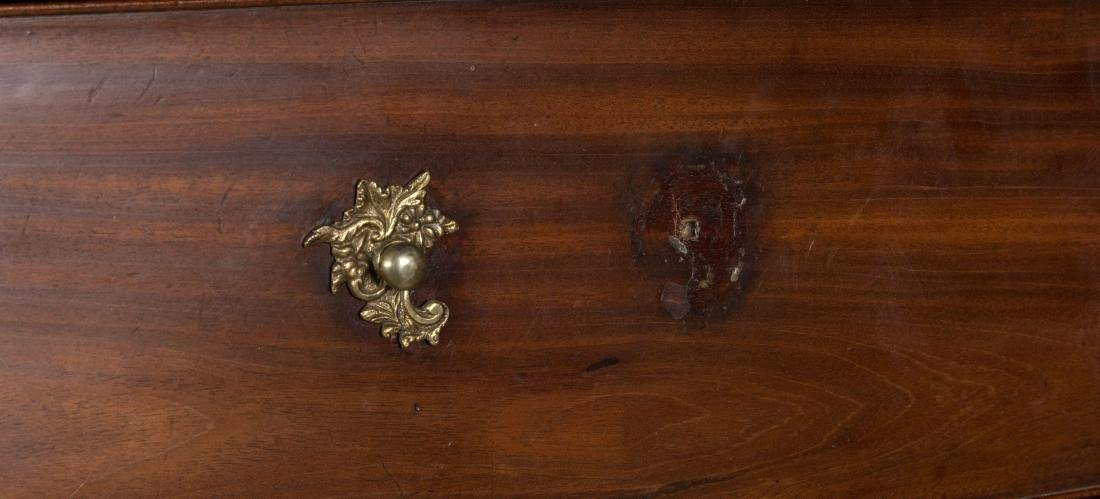 English Mahogany Chippendale Chest on Chest - 4