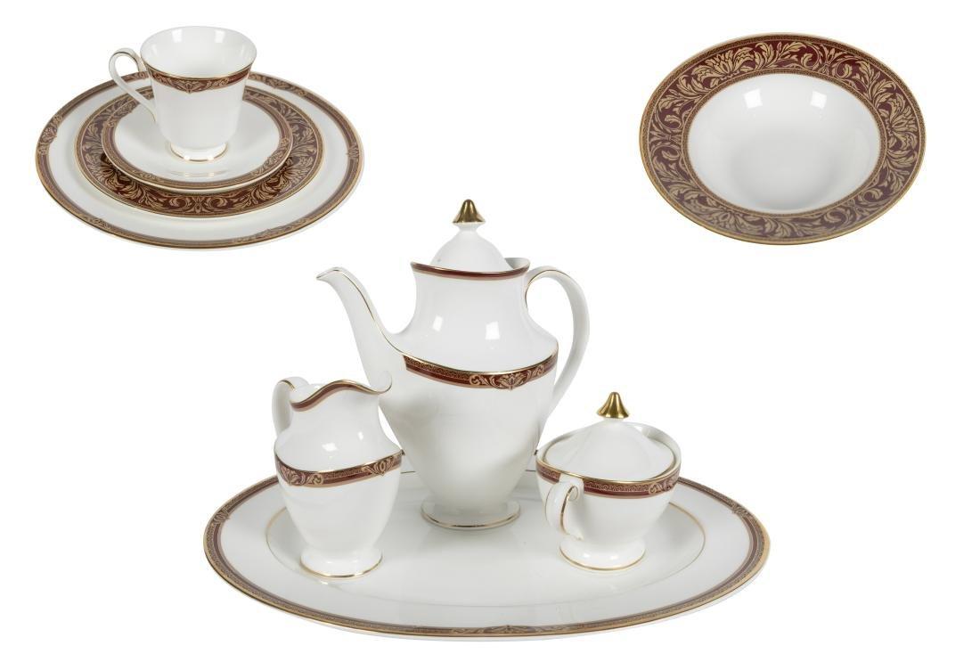 Royal Doulton Tennys Dinner Service - 56 Piece