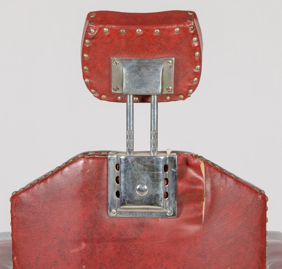 Koken Chrome and Vinyl Barber Chair - 8