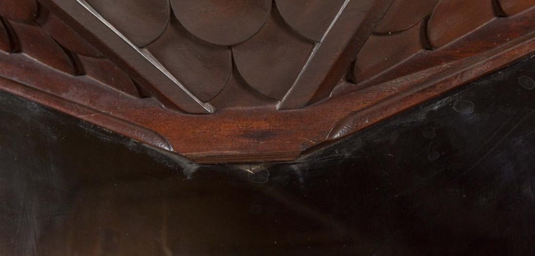 Victorian Mahogany Five Door Bookcase - 4