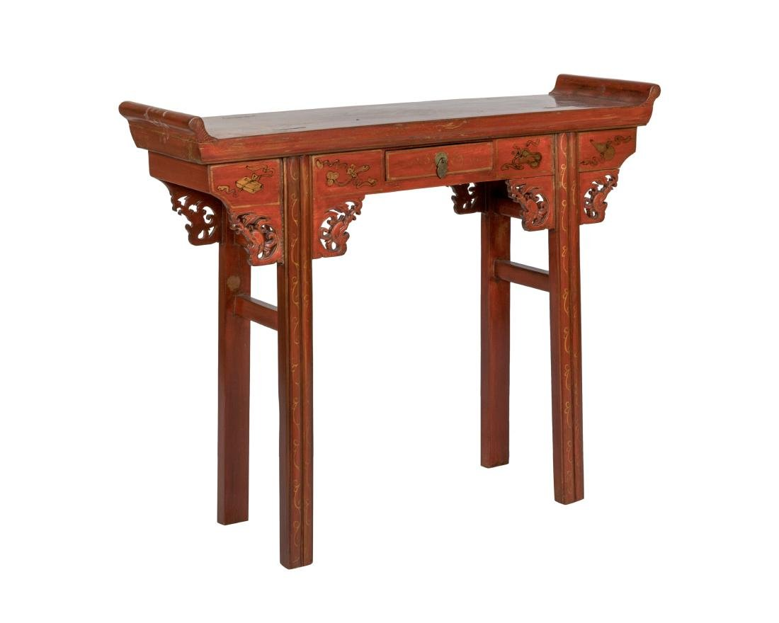 Chinese Decorated Alter Table