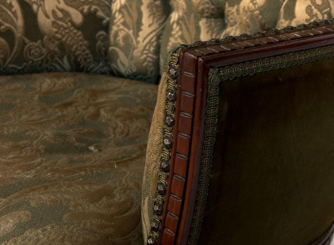 Mahogany Fireside Chairs - Pair - 3