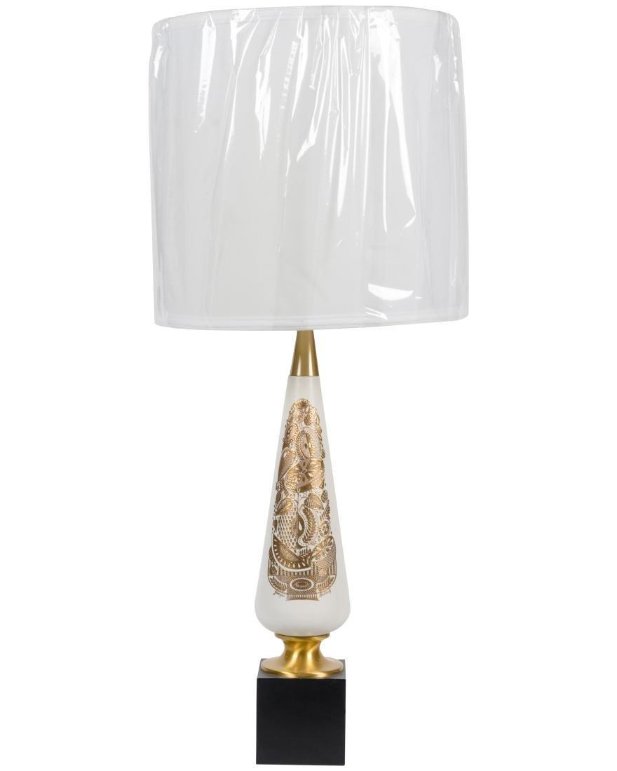 George Briard Lamp - Signed