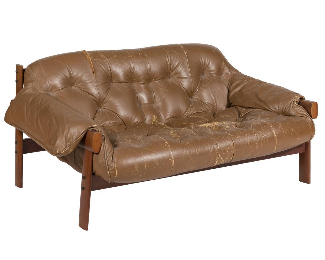 Percival Lafer Leather Sette - Signed