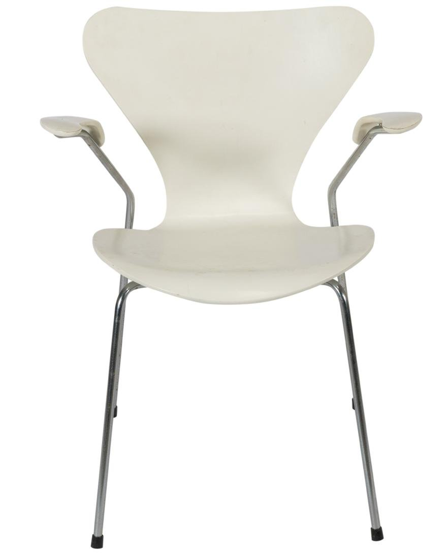 Arne Jacobson Fritz Hansen Arm Chair - Signed